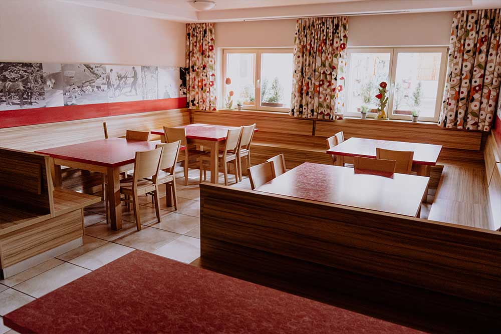 Speisesaal Jugendhaus Saonnegg Saalbach