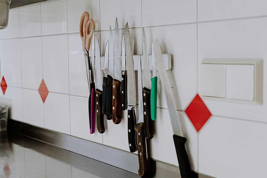Küche Jugendherberge Jugendhaus Sonnegg - Messer