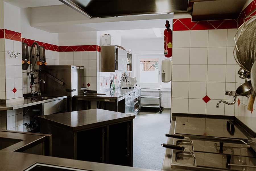 selber kochen Küche Jugendherberge Jugendhaus Sonnegg