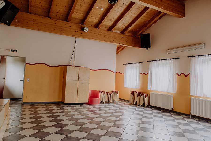 Jugendhaus Sonnegg hat einen eigenen Discoraum / Partyraum für die Gäste der Jugendherberge
