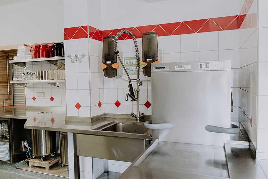 Küche Jugendherberge Jugendhaus Sonnegg