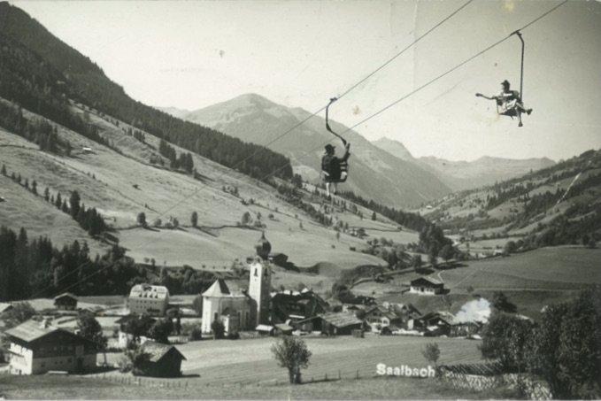 Saalbach Hinterglemm un den 50er JAhren