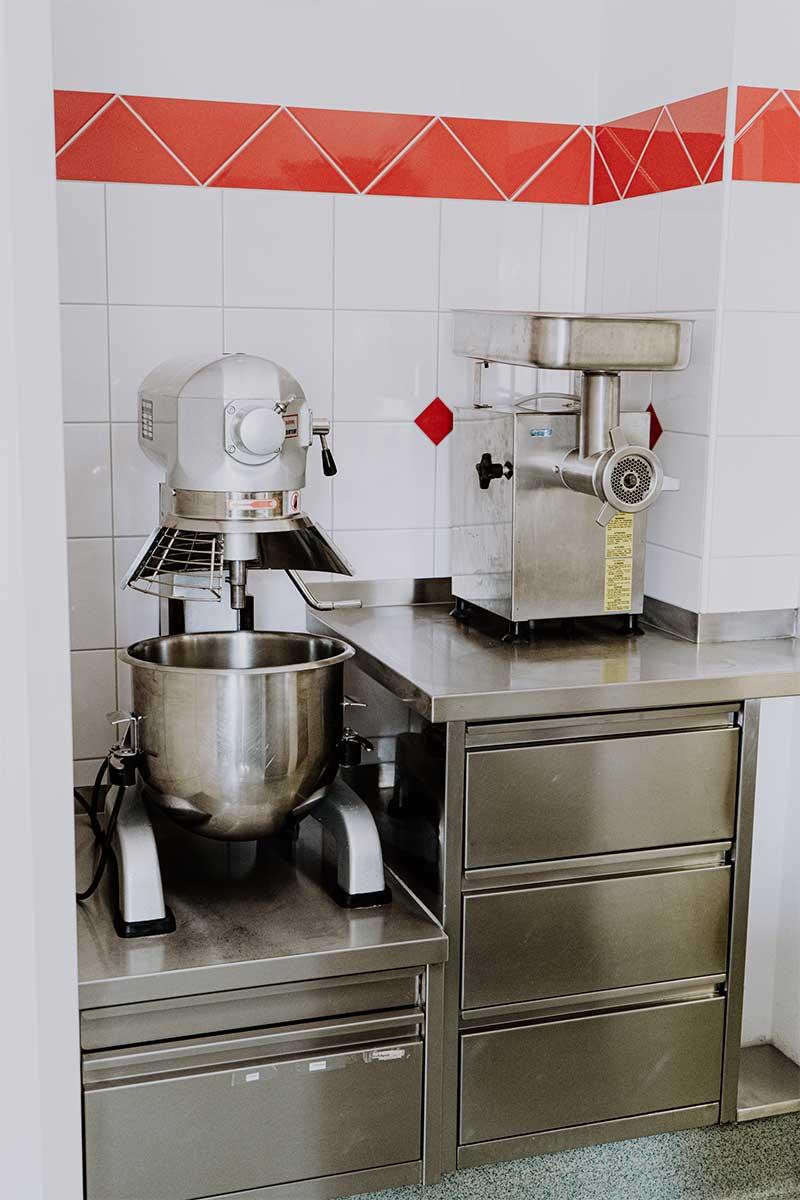 Küchengeräte - Küche Jugendherberge