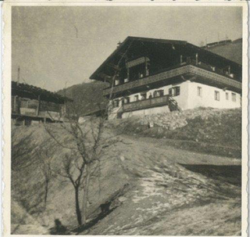 Jugendpension Sonnegg in Saalbach Hinterglemm im Jahr 1957