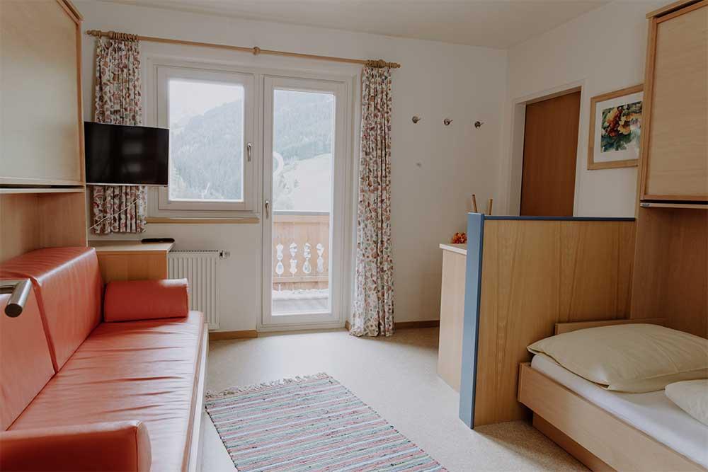 Mehrbettzimmer Jugendpension Sonnegg in Saalbach